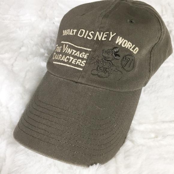 Disney Accessories - Walt Disney World True Vintage Characters Dad Hat